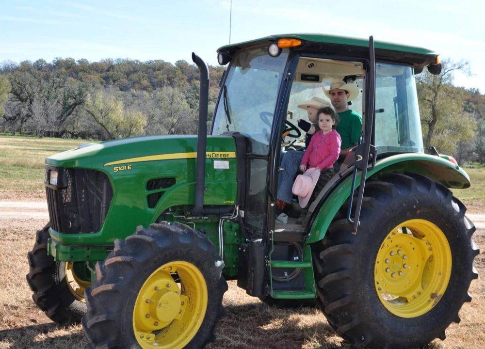 Ryan and Kids at River Creek Ranch