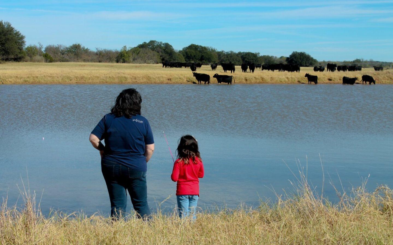 Family at River Creek Ranch