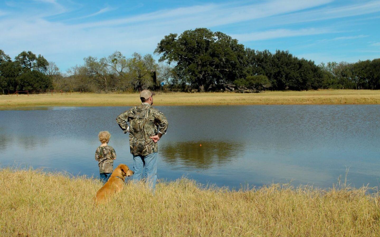 Ryan and Landry at River Creek Ranch